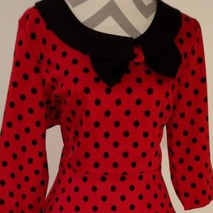 Lindy Bop Ladybug Dress